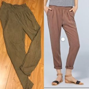 Wilfred casbah pants size 2 in olive green